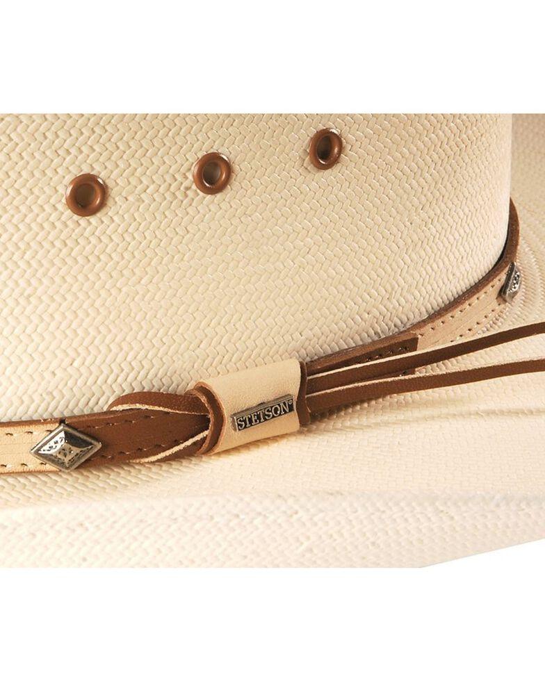 Stetson Men's 10X Grant Straw Cowboy Hat, Natural, hi-res