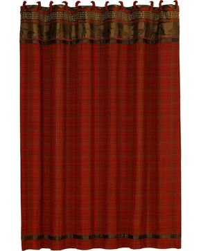 HiEnd Accents Cascade Lodge Shower Curtain, Multi, hi-res
