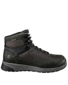 Carhartt Men's Force Waterproof Work Boots - Composite Toe, Black, hi-res