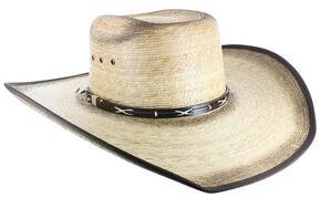 Cody James Men's Palm Leaf Cowboy Hat, Natural, hi-res