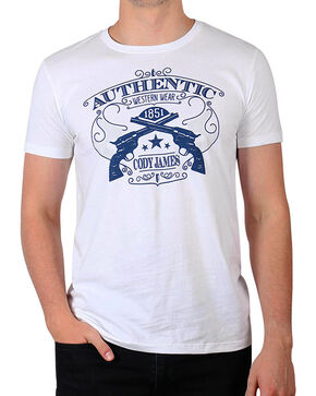 Cody James Men's Authentic T-Shirt, White, hi-res