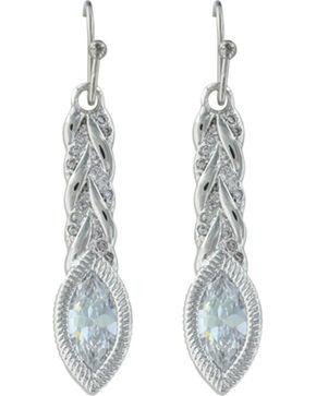 Montana Silversmiths Women's Woven Light Earrings , Silver, hi-res
