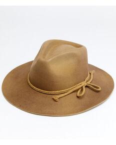 Shyanne Women's Tan Aster Wool Felt Western Hat , Tan, hi-res