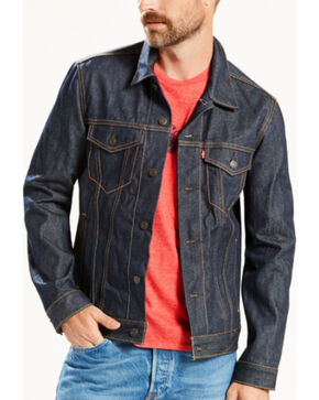Levi's Men's Indigo The Trucker Denim Jacket , Indigo, hi-res