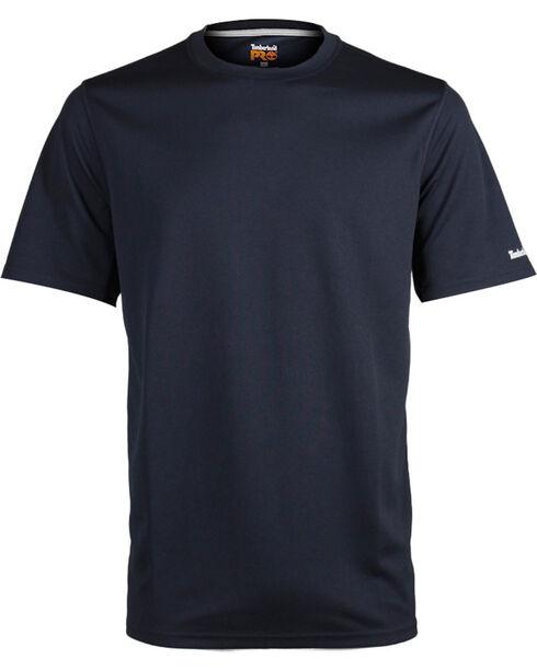 Timberland Pro Men's Black Wicking Good T-Shirt , Black, hi-res
