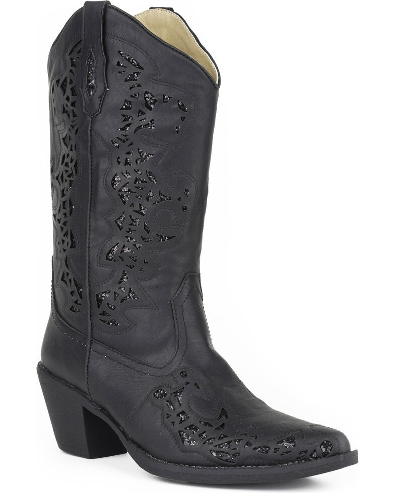 a1a3319c0cb Roper Women's Black Alisa Fashion Boots - Pointed Toe