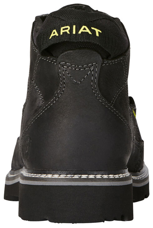 Ariat Men's Exhibitor Casual Boots - Moc Toe, Black, hi-res