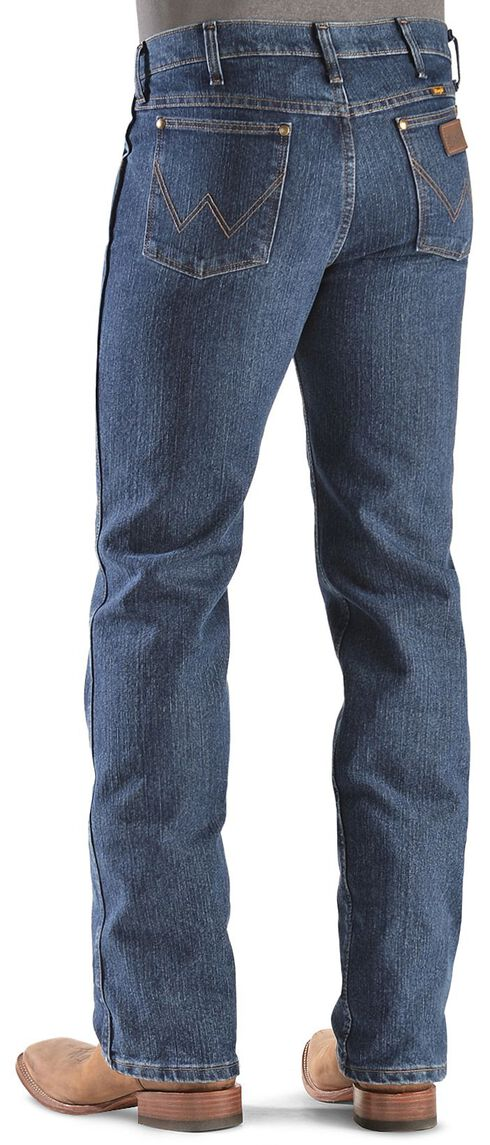 Wrangler Advanced Comfort Slim Fit Jeans - Reg, Dark Denim, hi-res