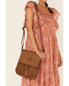 STS Ranchwear Women's Calvary Crossbody Bag, Brown, hi-res