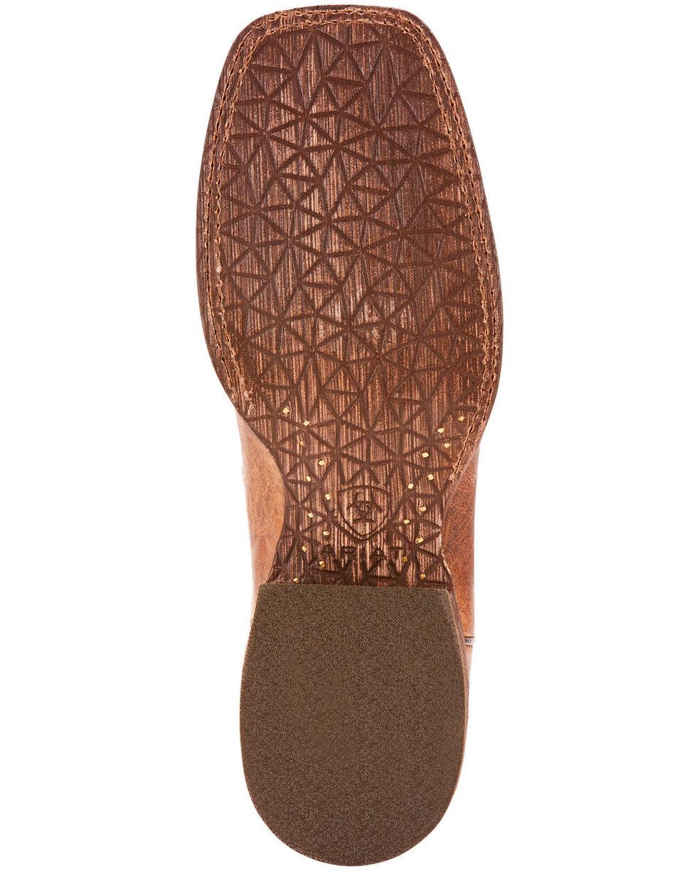 Ariat Men's Circuit Stride Weathered Tan Cowboy Boots - Square Toe, , hi-res