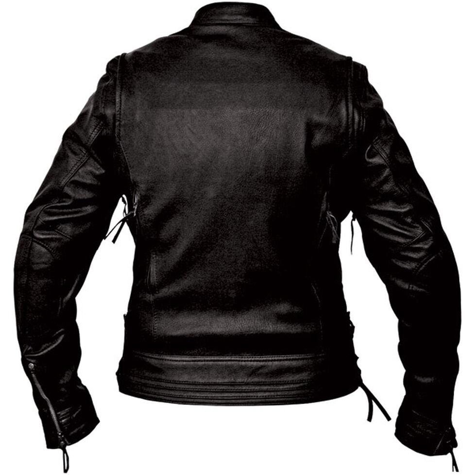 Interstate Leather Women's Jazz Jacket, Black, hi-res