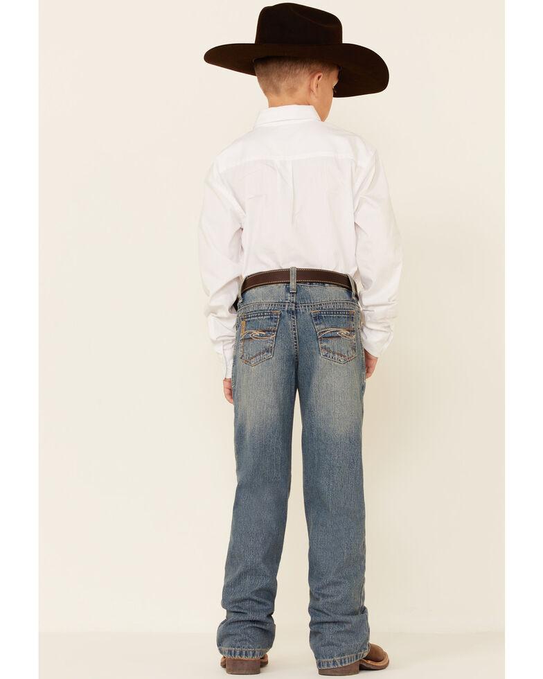 Cinch Boys' Tanner Regular Cut Jeans - 8-18 , Denim, hi-res