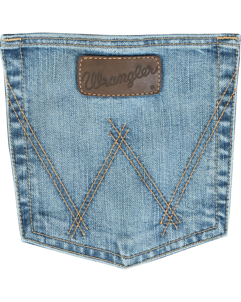 Wrangler Men's 20X Cool Vantage 02 Competition Slim Jeans - Tall, Denim, hi-res