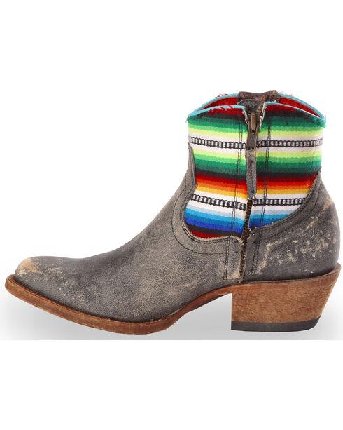 Macie Bean Women's Fiesta Chiquita Cowgirl Boots - Round Toe, Black, hi-res