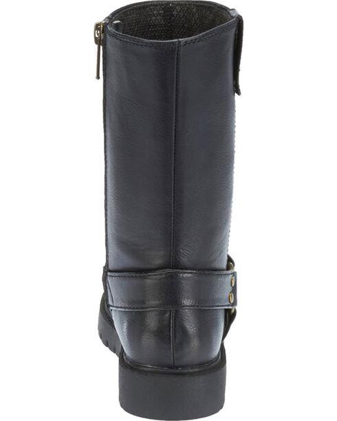 Harley Davidson Boys' Harness Boots, Black, hi-res
