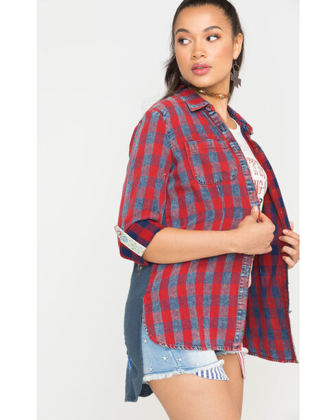 Aratta Women's Red Only In Dreams Shirt , Red, hi-res