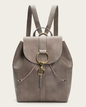 Frye Women's Ilana Harness Backpack , Grey, hi-res