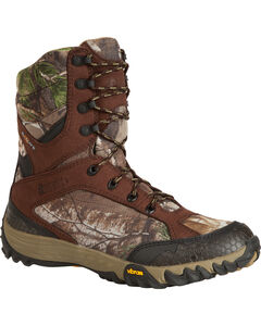 "Rocky 9"" SilentHunter Waterproof Insulated Outdoor Boots, Camouflage, hi-res"