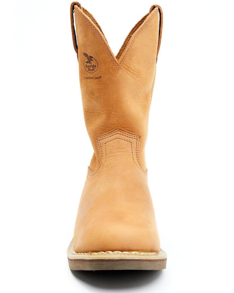Georgia Boot Wellington Work Boots, Chestnut, hi-res
