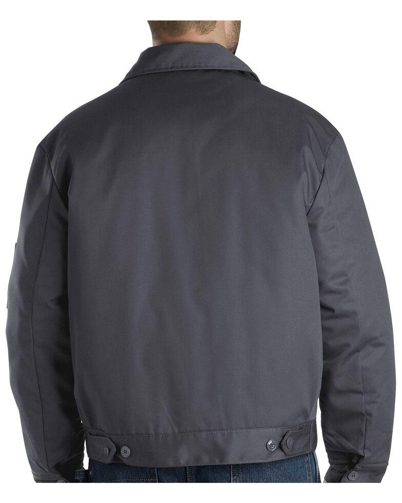 Dickies  Men's Insulated Eisenhower Work Jacket, Charcoal Grey, hi-res