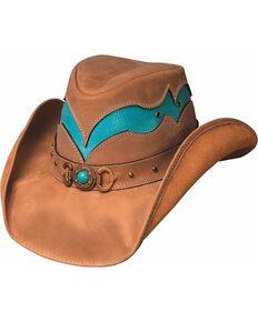 Bullhide Cascade Range Leather Outback Hat 2ba4e25a660d