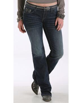 Cruel Girl Women's Blake Western Slim Jeans - Boot Cut , Indigo, hi-res