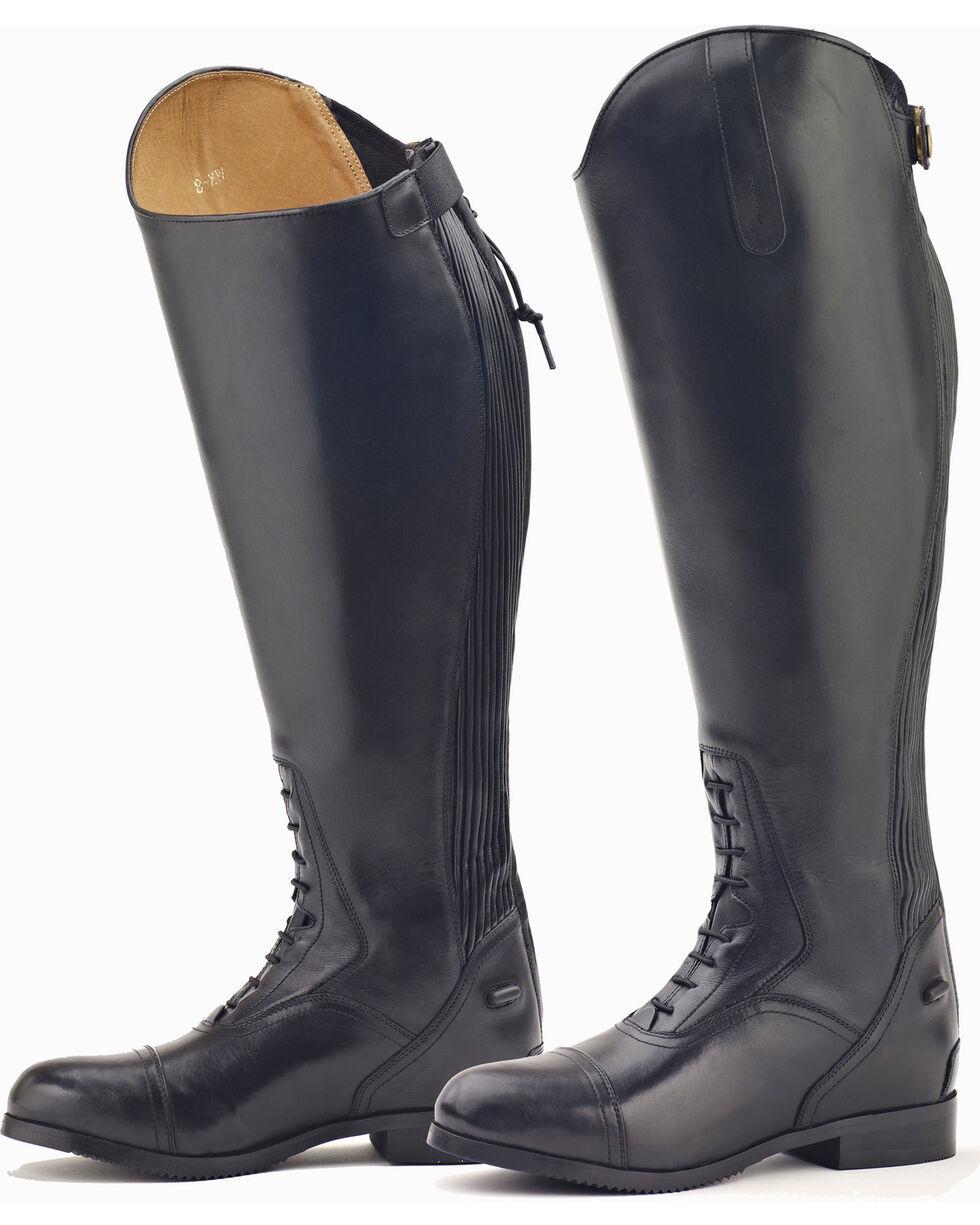 Ovation Women's Flex Plus Field Boots, Black, hi-res