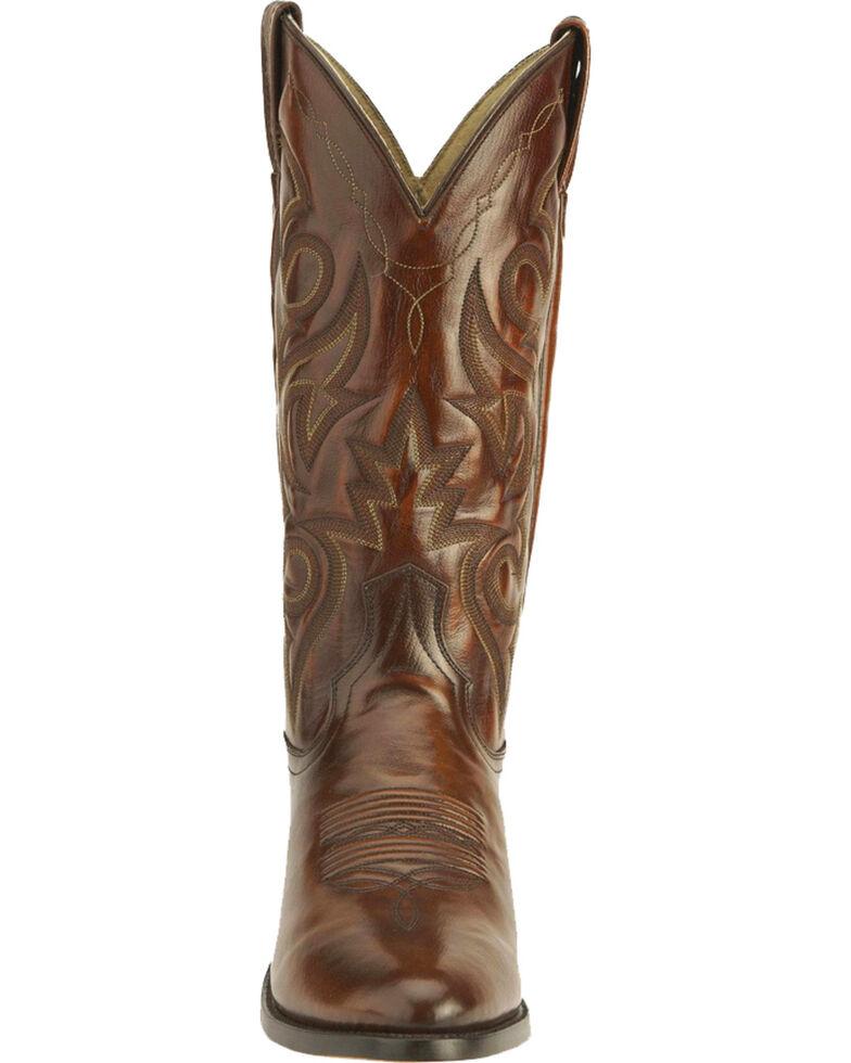 Dan Post Men's Mignon Leather Cowboy Boots - Medium Toe, Tan, hi-res