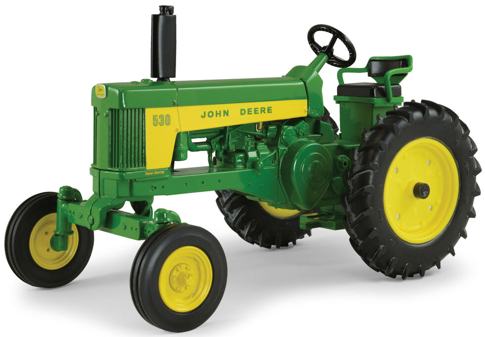 John Deere 1:16 530 Tractor Toy Replica, Green, hi-res