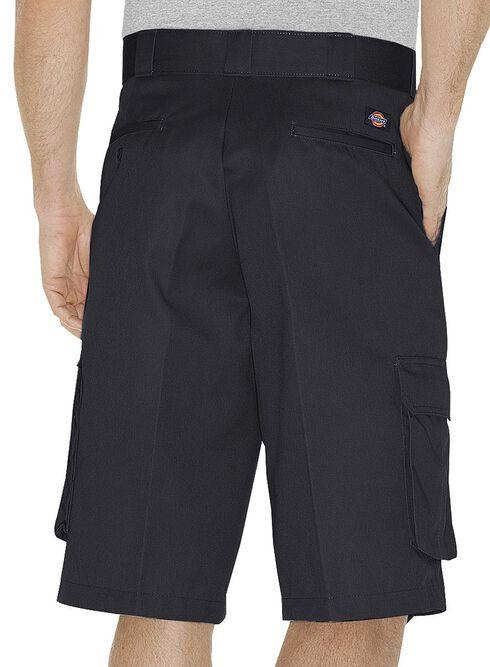 Dickies Twill Cargo Shorts, Black, hi-res