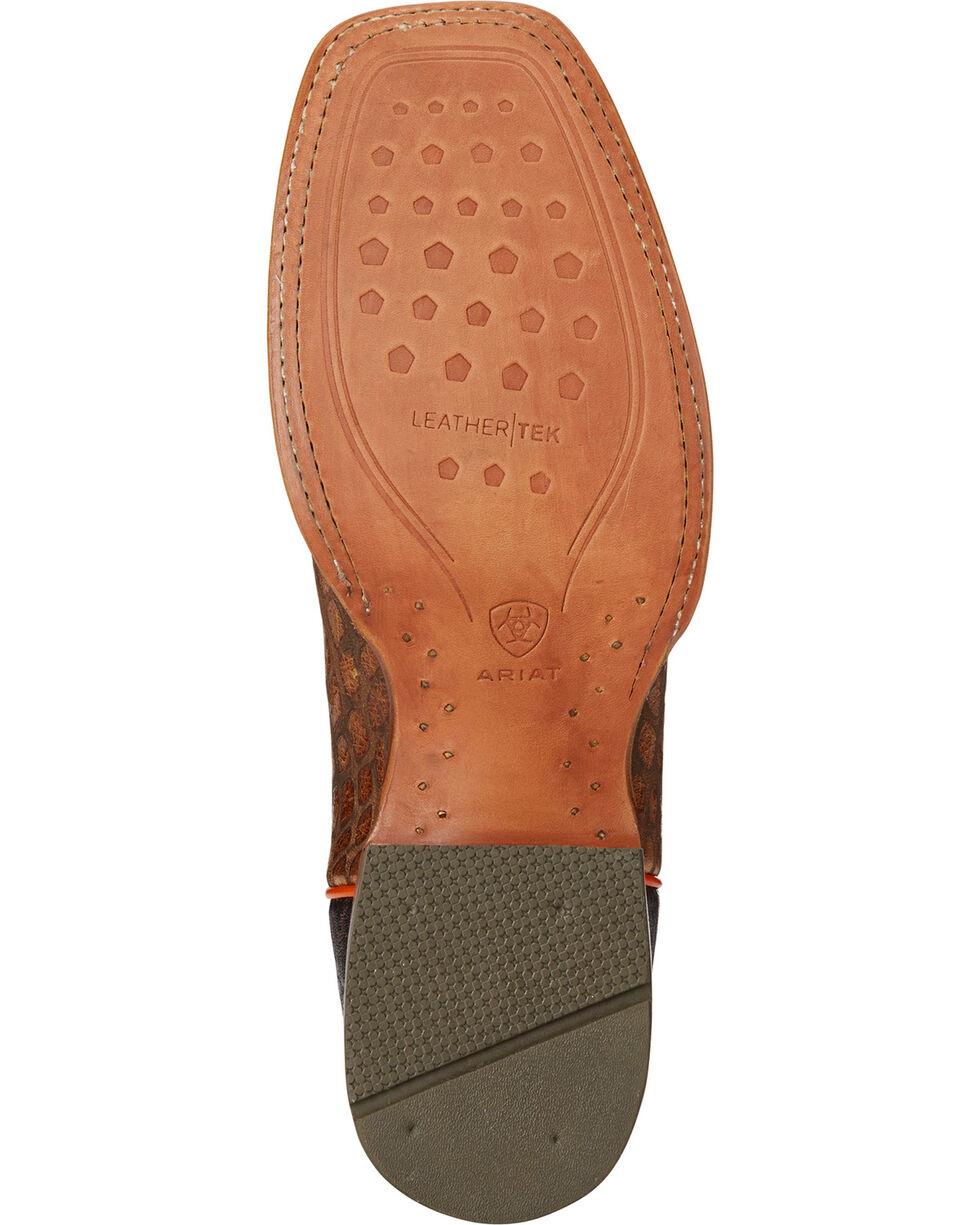 Ariat Men's Tan Tapadero Wildhorse Boots - Square Toe , Tan, hi-res