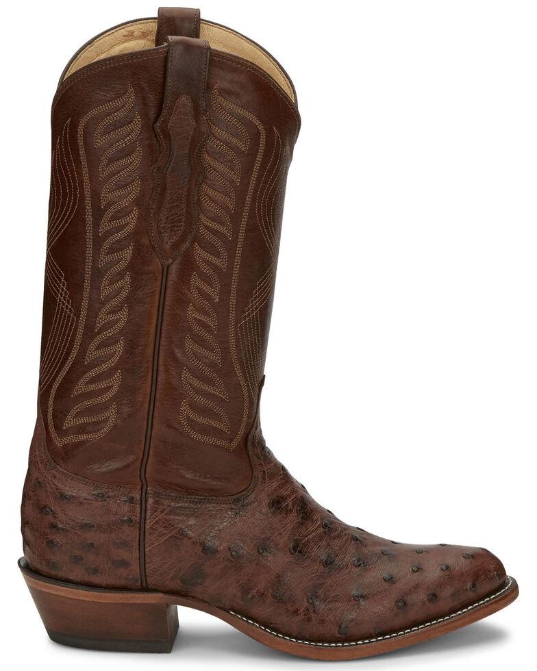 Tony Lama Men's McCandles Western Boots - Round Toe, Brown, hi-res