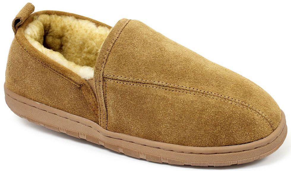 Lamo Footwear Men's Classic Romeo Slippers, Chestnut, hi-res