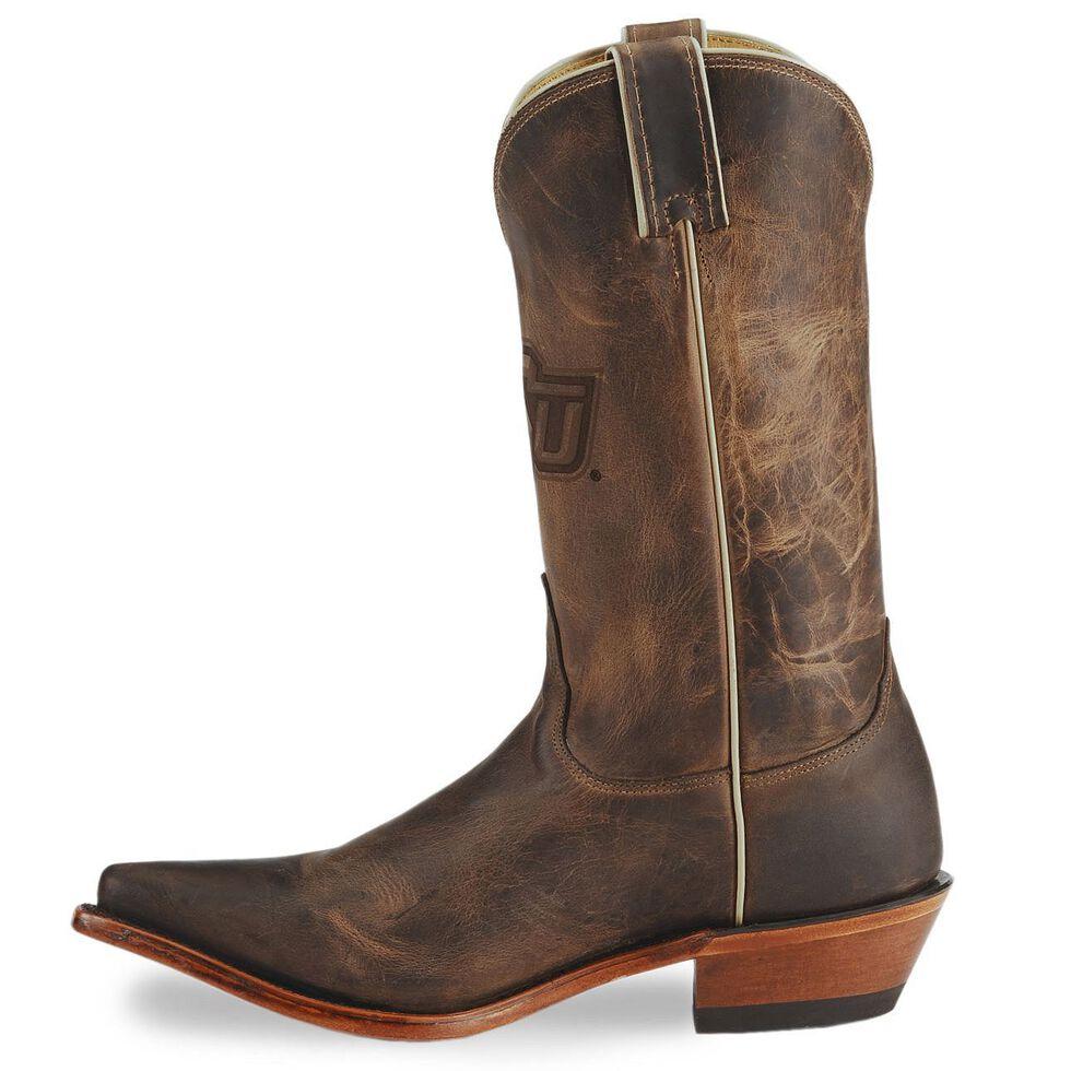 Nocona Women's Oklahoma State College Boots - Snip Toe, Tan, hi-res