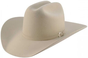 Bailey Men's Pro 5X Wool Felt Cowboy Hat, Silverbelly, hi-res