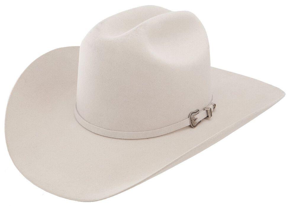 Resistol 5X Challenger Fur Felt Silverbelly Cowboy Hat, Silverbelly, hi-res