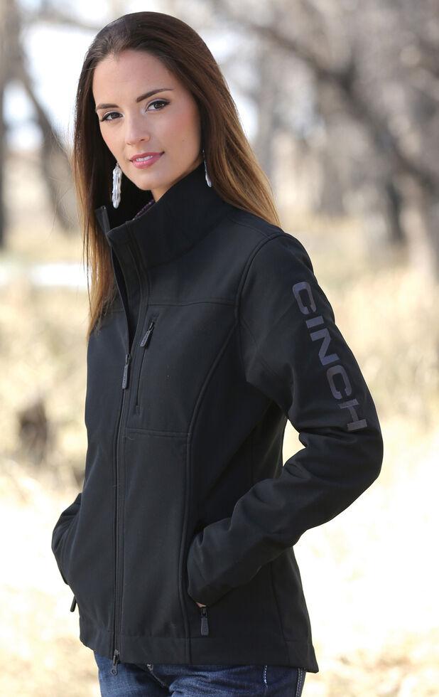 10903445011 Cinch Women s Black Concealed Carry Bonded Jacket