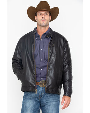 Cody James Men's Leather Badland Jacket , Brown, hi-res