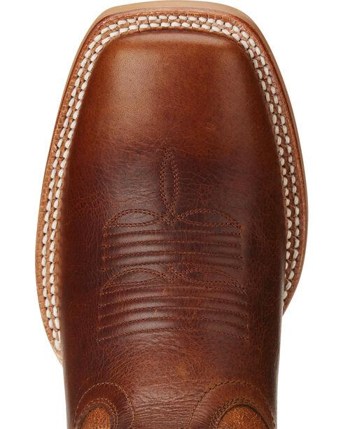Ariat Men's Fire Creek Western Boots - Square Toe , Brown, hi-res