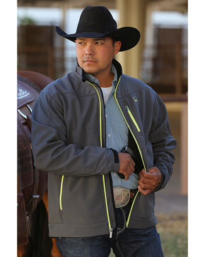Cinch Men's Grey Concealed Carry Bonded Jacket, Grey, hi-res