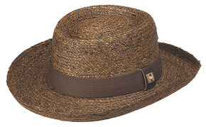 Peter Grimm Santiago Straw Hat, Brown, hi-res