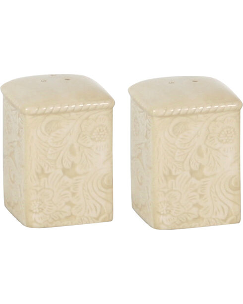 HiEnd Accents Savannah Salt & Pepper Shakers, Cream, hi-res