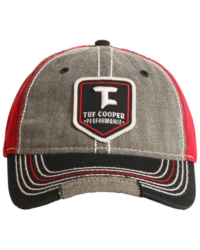 Tuf Cooper Men's Grey Emblem Patch Cap, Grey, hi-res