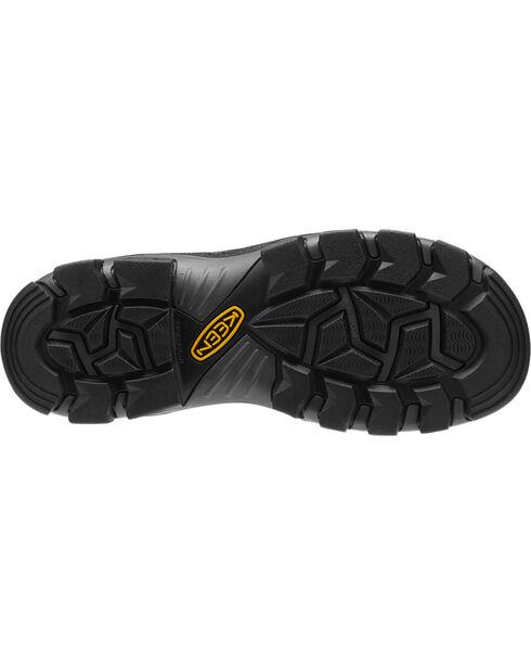"""Keen Men's Leavenworth Internal Met 6"""" Boots - Steel Toe, Black, hi-res"""