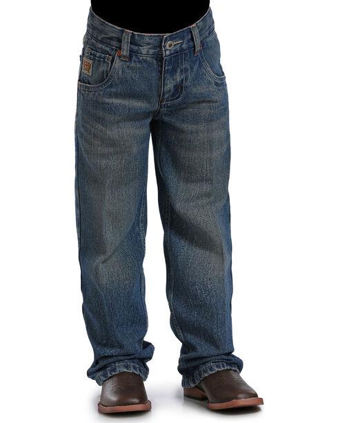Cinch Boys' (4-7) Indigo Tanner Adjustable Straight Leg Jeans, Indigo, hi-res