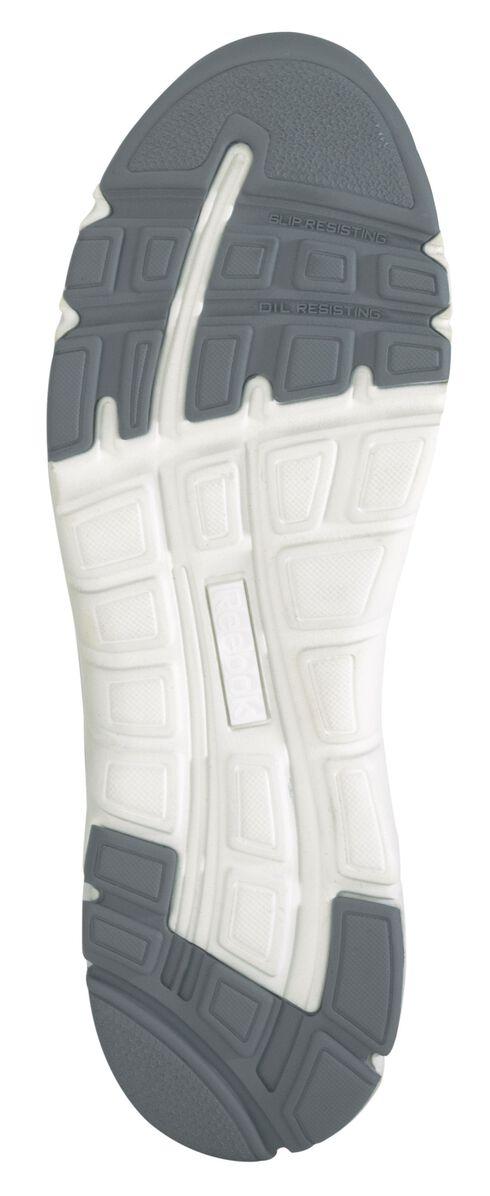 Reebok Men's Athletic Soft Toe Work Shoes, White, hi-res