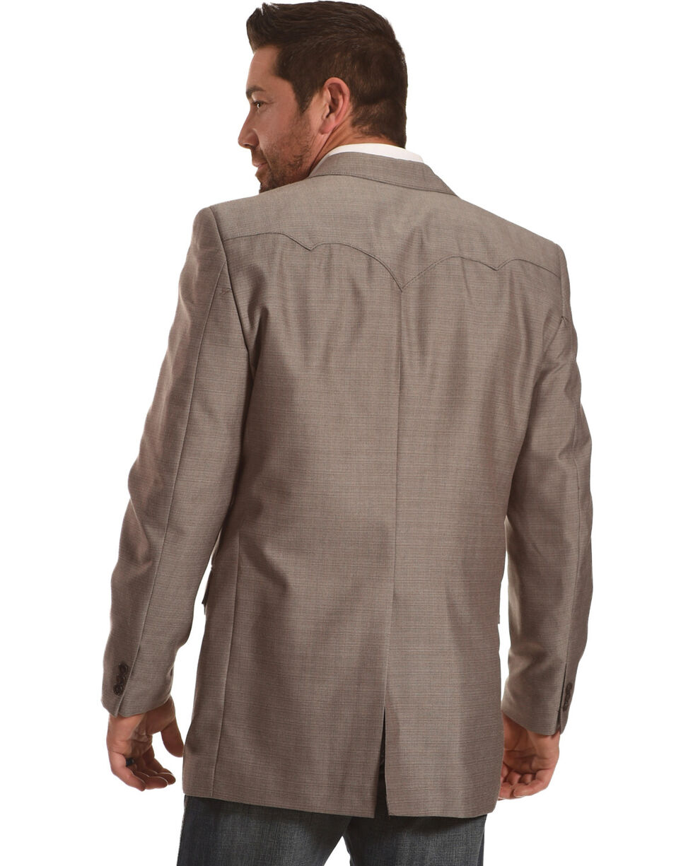 Circle S Men's Plano Nutmeg Sport Coat - Big & Tall, Tan, hi-res