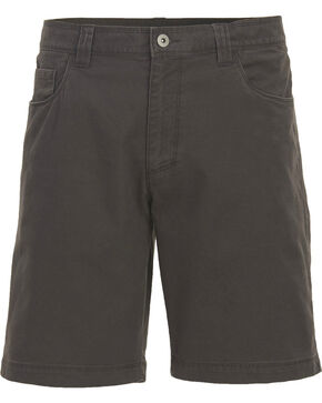 Woolrich Men's Nomad Canvas Shorts , Grey, hi-res