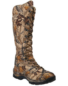 Northside Men's Kamiak Ridge Snake Proof Hunting Boots - Soft Toe, Camouflage, hi-res