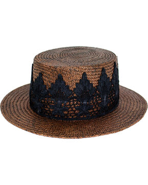Peter Grimm Women's Brown Petra Hat , Brown, hi-res